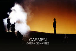 Carmen de Bizet mis en scène par Adriano Sinivia